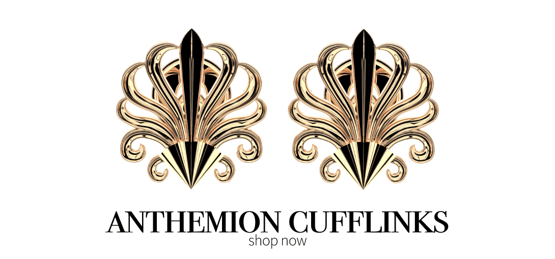 Anthemion Cufflinks