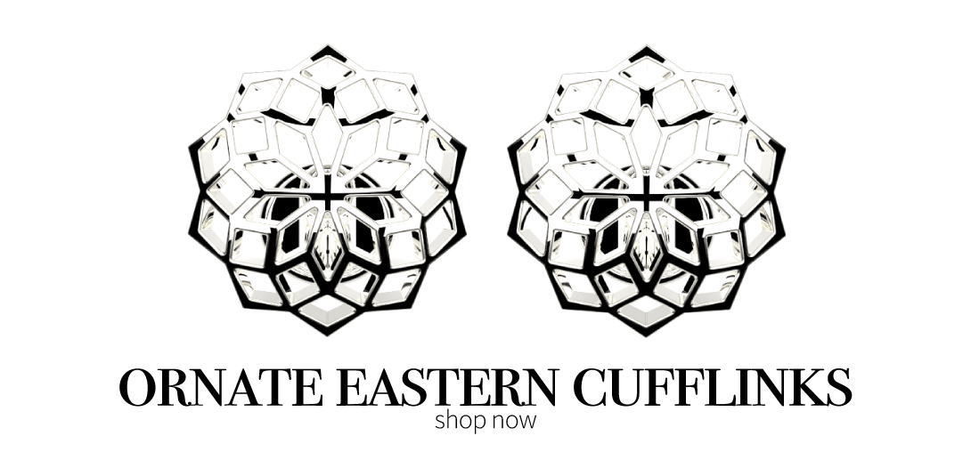 Ornate Eastern Cufflinks